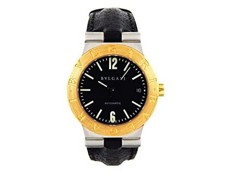 64268922e9165 Image Unavailable. Image not available for. Color: Bvlgari Diagono Automatic -self-Wind Mens Watch ...
