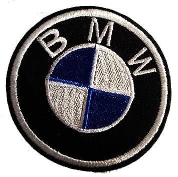 BMW Logo BMW Fans Patch   7,5 x 7,5 cm   - Écusson brodé Ecussons ... d61d32accf3