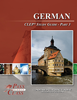 amazon com german clep test study guide pass your class part 1 rh amazon com clep study guide american government clep study guide 2019