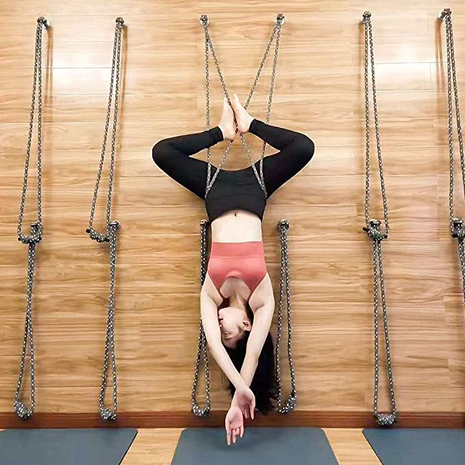 LZ Iyengar Yoga Rope Sling Kit de Montaje en Pared ...