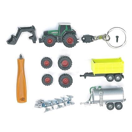 bruder 00402 - Llavero de Tractor Fendt Favorit 930 con ...
