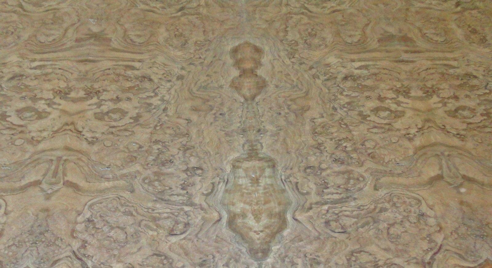 Walnut Burl wood veneer 24'' x 96'' with paper backer 1/40'' thickness AAA grade