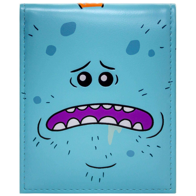 Mr Meeseeks Existence is Pain Blue ID & Card Bi-Fold Wallet