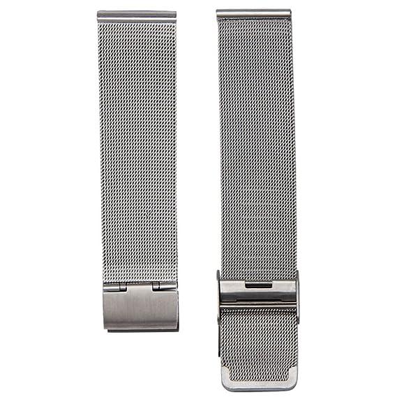 Malloom® Moda milanesa acero inoxidable de malla 18 mm Venda Reloj Pulsera Correa Repuesto (