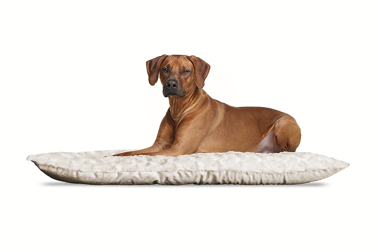 FurHaven Pet Kennel Pad   Ultra Plush Tufted Pillow Pet Bed for Crates & Kennels, Latte, X-Large