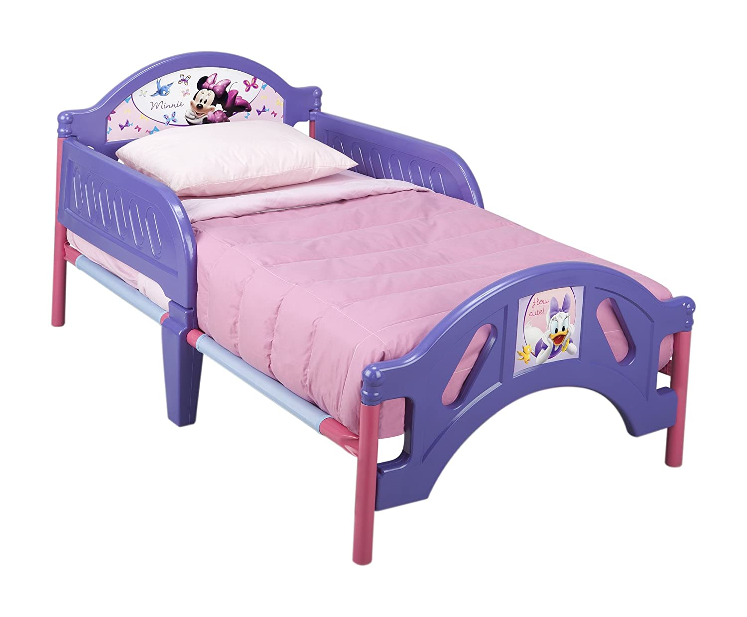 Amazon Plastic Toddler Bed Disney Minnie Mouse Childrens