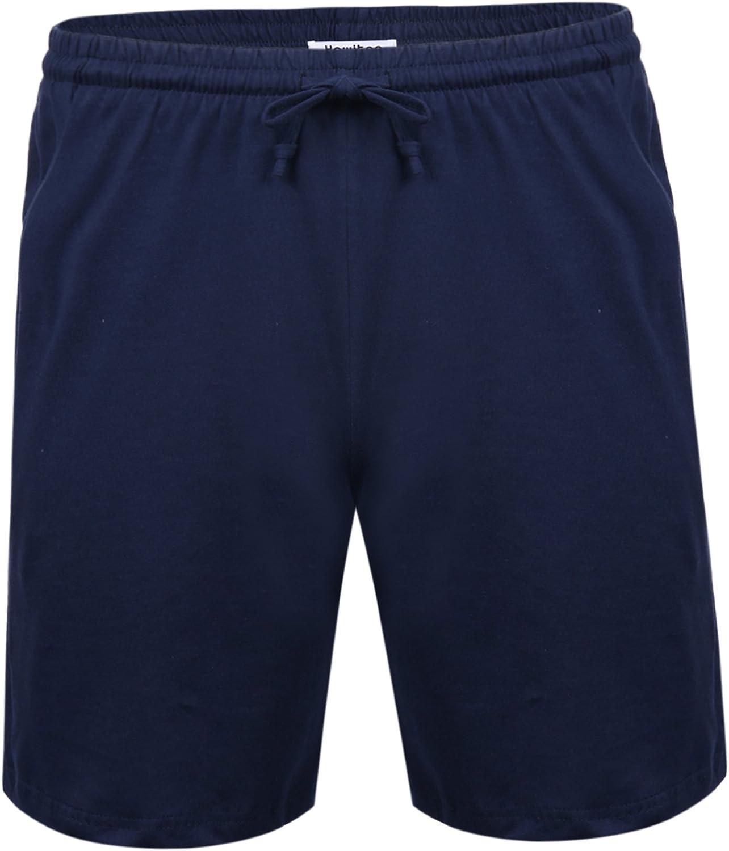Hawiton Homme Shorts Bermuda Pantacourt Jogging Sport Poches Casual Taille /Élastique Corde De Serrage