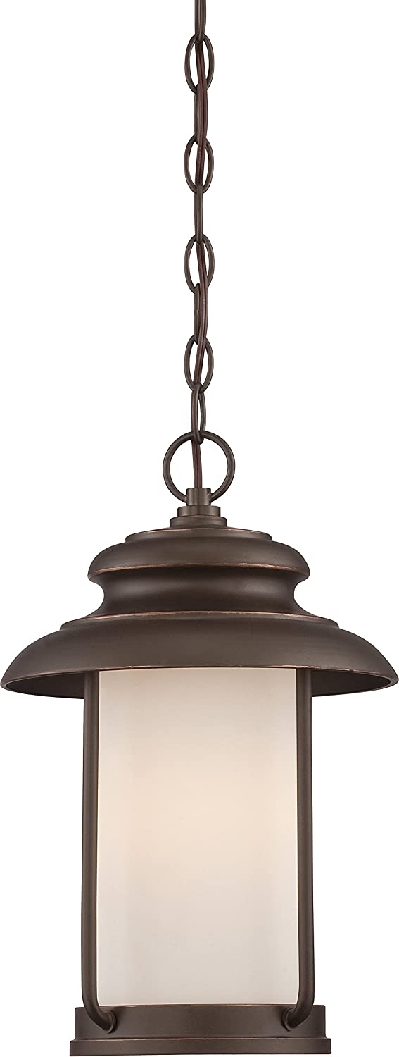 Nuvo Lighting 62/635 Bethany - LED Outdoor Hanging with Satin White Glass by Nuvo Lighting B0136Q7DJU