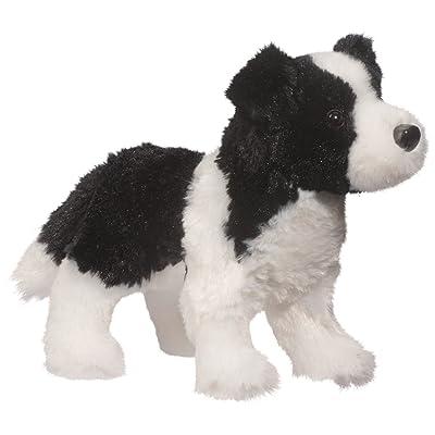 Douglas Meadow Border Collie Plush Stuffed Animal: Toys & Games