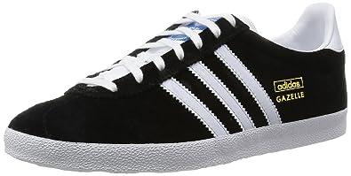 cd3b78643d04f adidas Gazelle Og 5 Men s Trainers Black White Metallic Gold  5.5 UK(