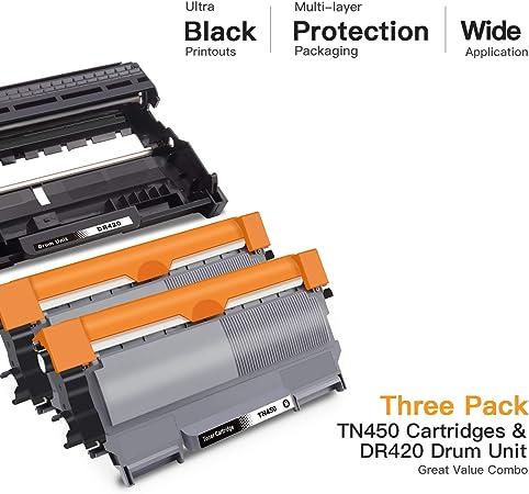 500g//Bag,1 Pack No-name Black Refill Laser Printer Toner Powder Kit for Brother FAX 2820 P 2500 5130 51450 DPC 7010 7025 FAX2820 P2500 P5130 P5140 Laser Printer