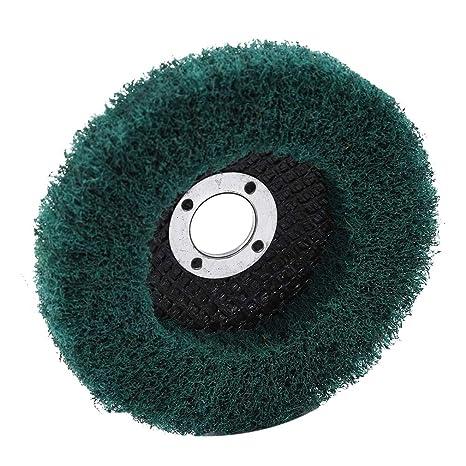 Kingus - Disco abrasivo para pulir Ruedas, Green Without ...