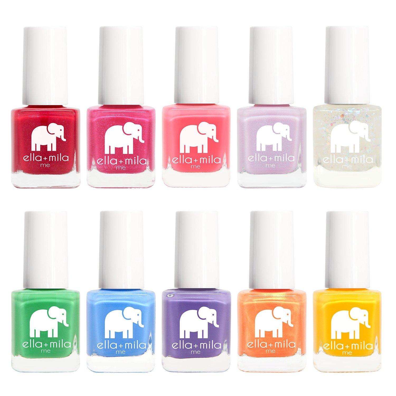 Amazon.com : ella+mila Nail Polish, Me Collection - (10-Pack) : Beauty