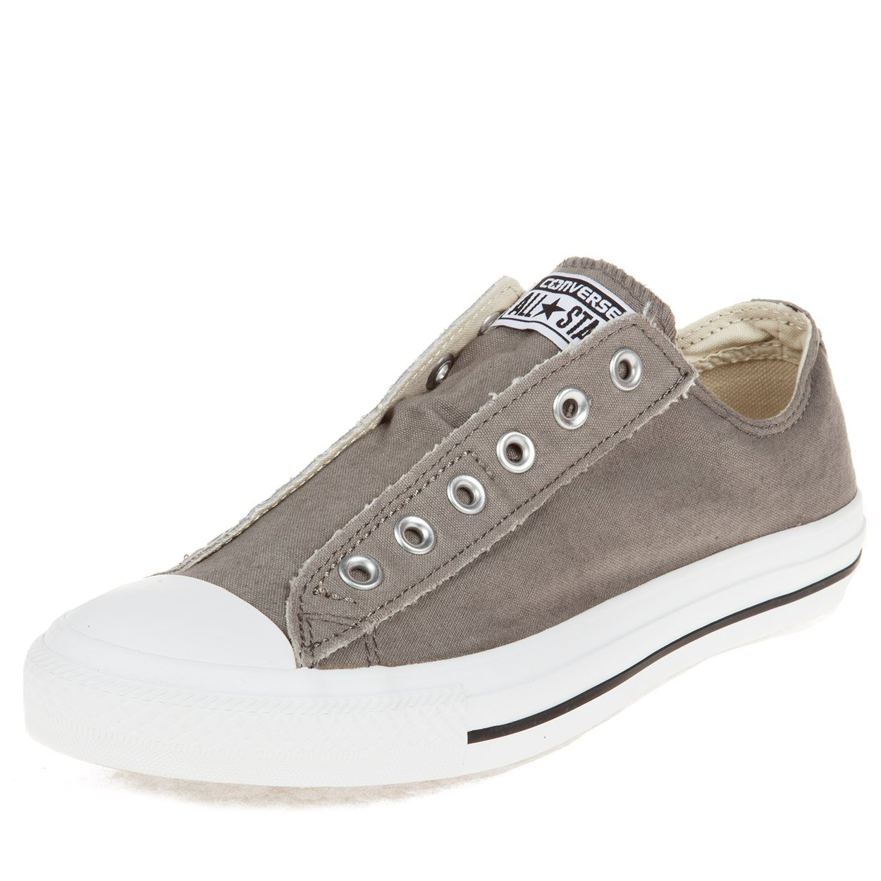 2fa0e32ec36d3e Galleon - Converse Chuck Taylor All-Star Charcoal Orange Slip-on Shoes  (1X841)