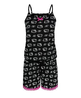 RageIT Mädchen Hello Kitty Baumwolle Pyjama Set Kleid Strampelanzug ...