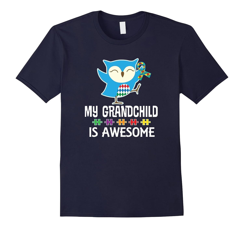 Autism Spectrum Awareness Grandchild Support T-shirt-CD