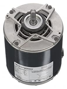 Marathon Electric/Regal Beloit - 5KH39QN5550X - 1/8 HP Direct Drive Blower Motor, Split-Phase, 1725 Nameplate RPM, 115 Voltage, Frame 48Y