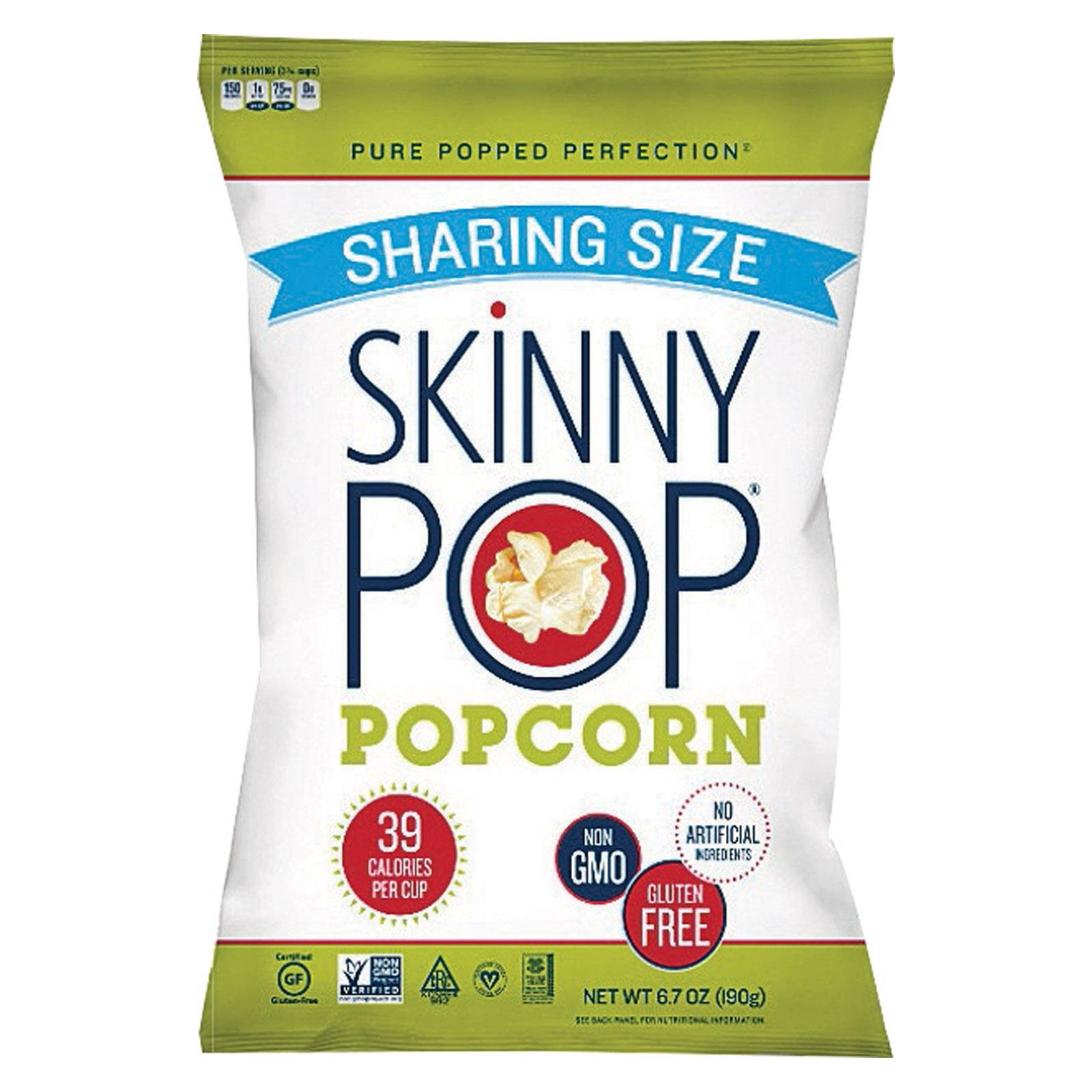 Skinny Pop Popcorn Orig Sharing Size, 6.7 Ounce