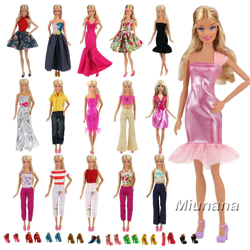 6dc6a5b32 low-cost 15x articulos 5x Vestidos estilo al azar Ropa 10 pares Zapatos  Accesorios