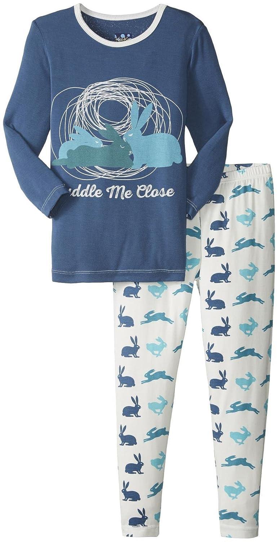6a5068e5a366 Amazon.com  Kickee Pants Boys  Print Long Sleeve Pajama Set Prd ...