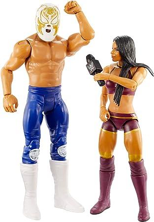 WWE Pack de Dos Luchadores, Figuras ANDRADE CIEN ALMAS & ZELINA VEGA (Mattel GLB22): Amazon.es: Juguetes y juegos