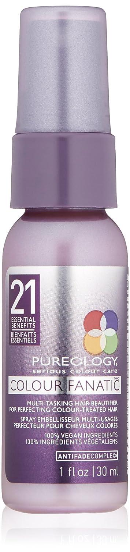 Pureology Colour Fanatic Hair Leave in Treatment Spray, 1 Fl Oz