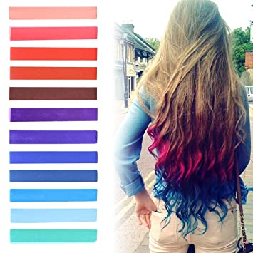 Amazon best diy red to blue ombre hair dye set of 12 usa best diy red to blue ombre hair dye set of 12 usa inspired hair dye solutioingenieria Image collections