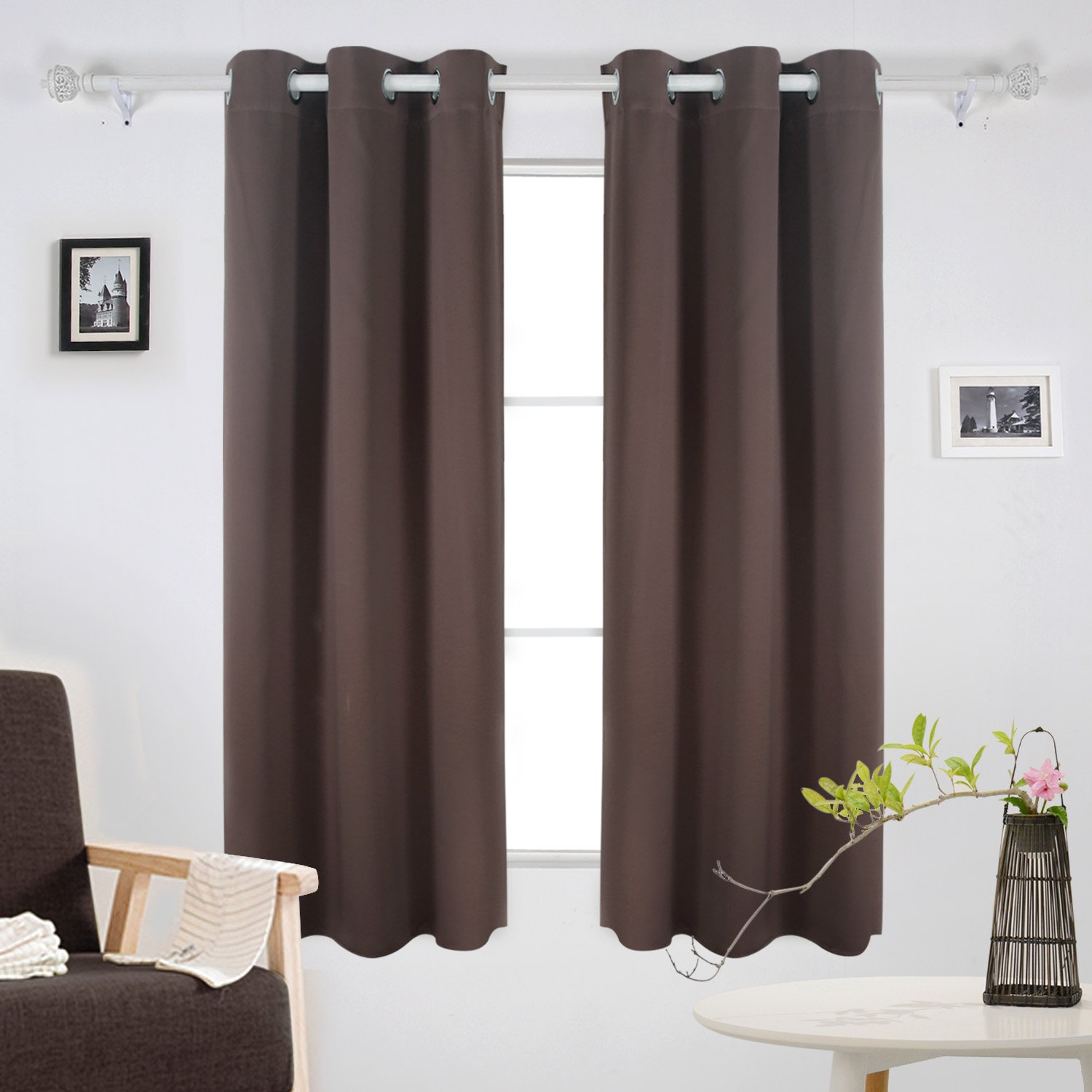 100 Soho Thermal Blackout Grommet Top Abri Grommet Crushed Sheer Curtain Panels Set Of 2 Lenox