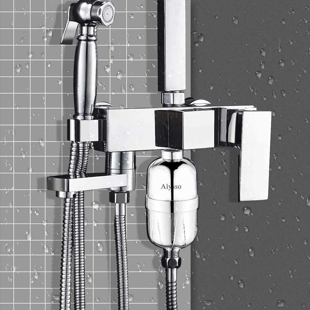 Alysso Shower Filter Chlorine 2019 Professional Reducing Chlorine Fluoride Heavy Metals Bacteria
