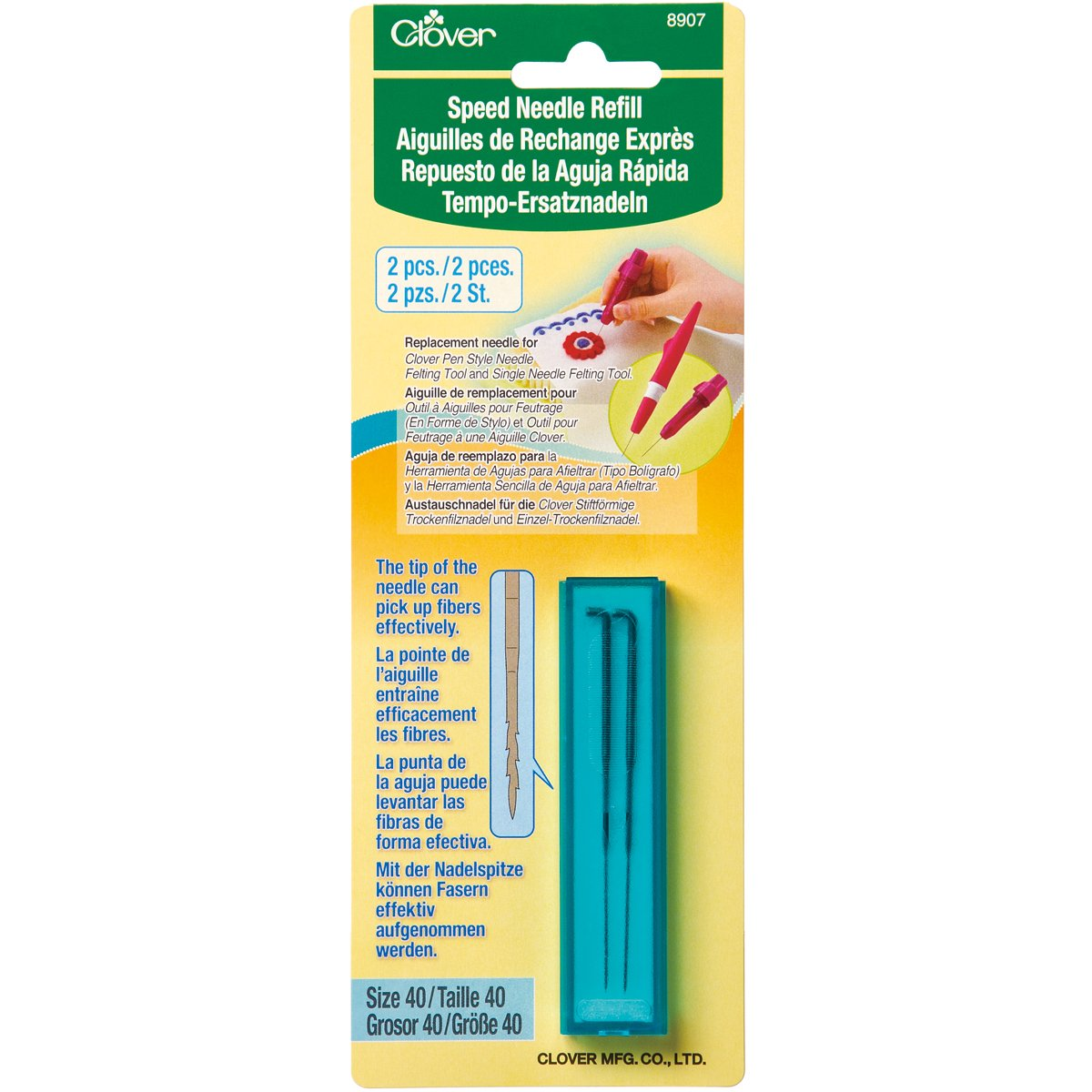 Clover Speed Needle Refill 8907