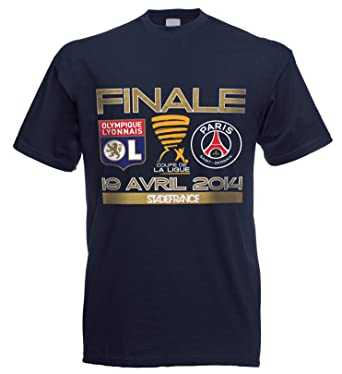 Paris Saint Germain Camiseta PSG/Lyon OL - Finale Copa de la ...