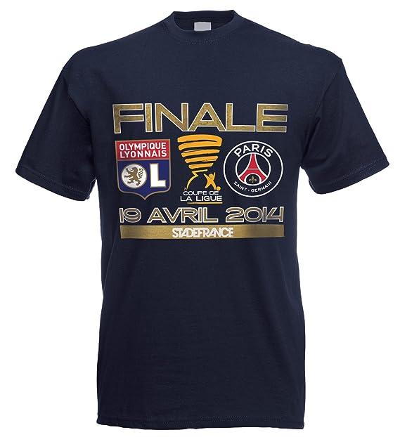 Camiseta PSG/Lyon OL – Finale Copa de la liga 2014 – Colección Officielle Paris