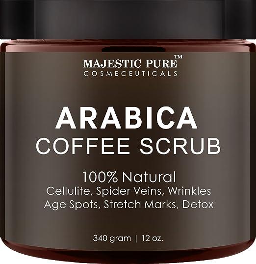 Arabica Coffee Scrub From Majestic Pure