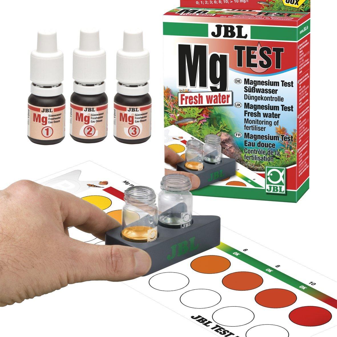JBL suprimir para la determinación de la Contenido de magnesio en acuarios de agua dulce, Magnesio Mg Kit Test agua dulce, 25414: Amazon.es: Productos para ...
