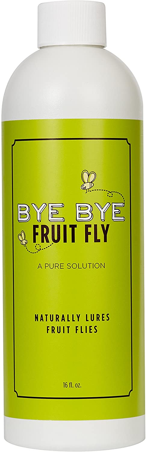 Bye Bye Fruit Fly, Natural Fruit Fly Trap, Lures Kitchen Pests
