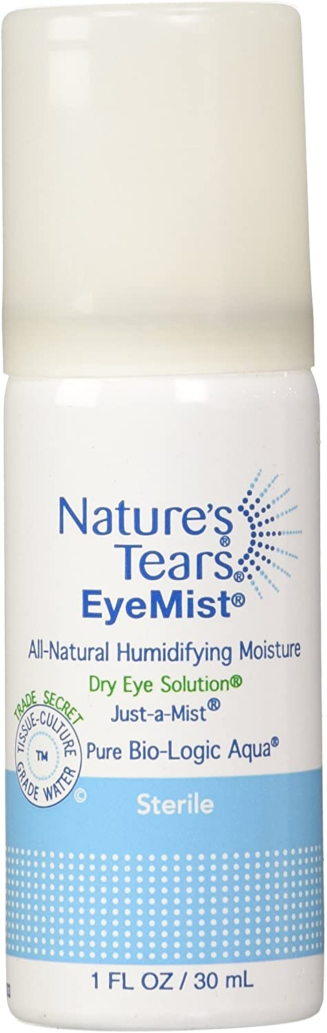 Eye Drops and Mist for Dry Eye | 1 Oz | Pack of 2 | Nature's Tears | Apothecary Products