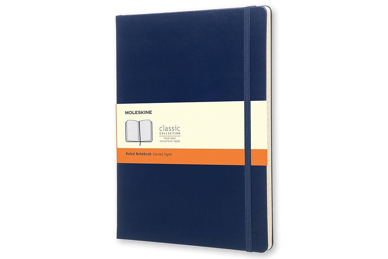 MOLESKINE EXTRA LARGE PRUSSIAN BLUE HARD MOLESKINE S.P.A. QP090B1 Non-Classifiable Schreibwaren (bedruckt)