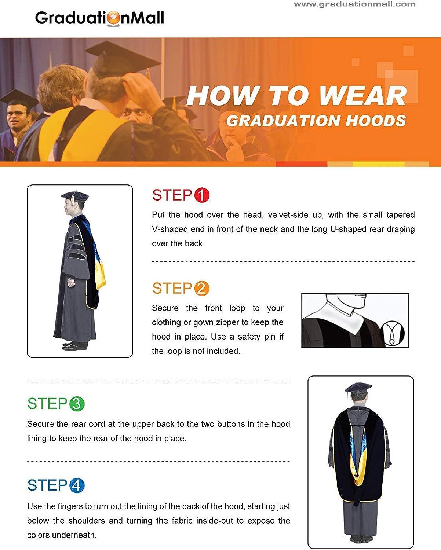 GraduationMall Graduation Hood for UK Academic Bachelor