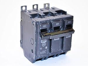 GE THQB32040 Bolt-On Mount Type THQB Miniature Circuit Breaker 3-Pole 40 Amp 240 Volt AC