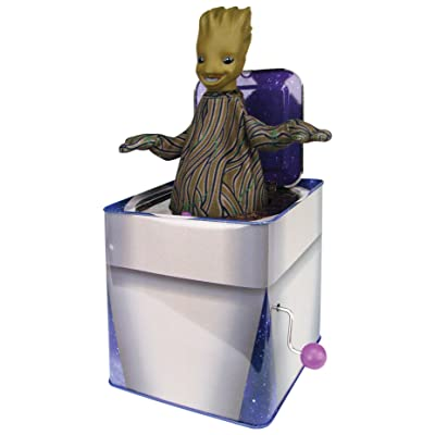 Bif Bang Pow! Guardians of The Galaxy Classic Groot Jack in The Box Action Figure: Toys & Games [5Bkhe1512592]