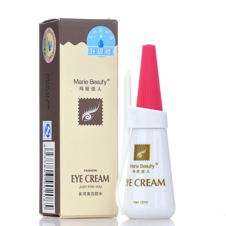 6b1f40001dd Amazon.com : AnHuaNew Professional EYE Waterproof False Eyelashes Adhesive  Marie Beauty Premium Edition Eyelashes Glue - Clear White 12ml : Beauty