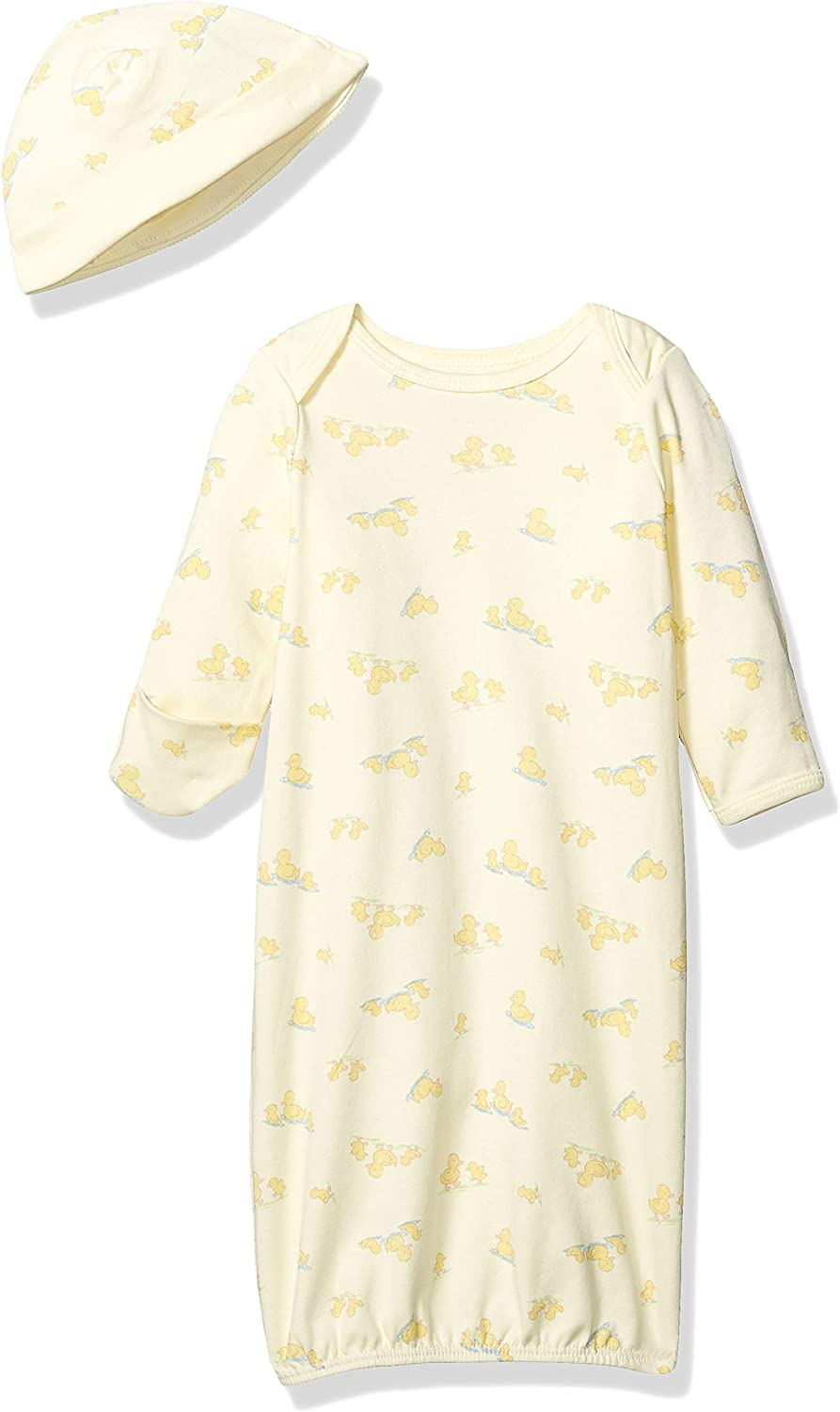Little Me Baby Boys' Gown and Hat