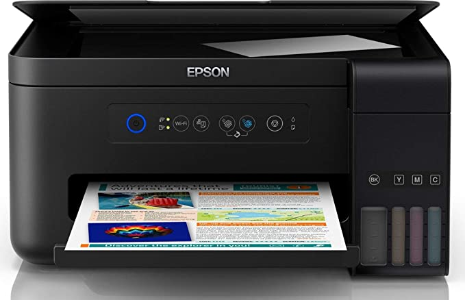 Epson L4150 All in One Wireless Ink Tank Colour Printer  Black  Ink Tank Printers