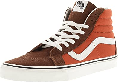 1df2f5c3365f Vans Sk8-Hi Reissue 2 Tone Cappuccino Burnt Ochre Ankle-High Canvas  Skateboarding