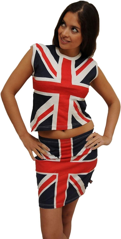 Union Jack Women/'s Vest