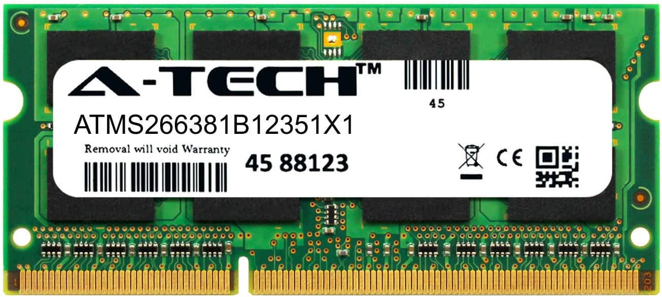 A-Tech 8GB Module for HP EliteBook 840 G1 Laptop & Notebook Compatible DDR3/DDR3L PC3-12800 1600Mhz Memory Ram (ATMS266381B12351X1)
