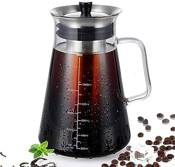 Semko Airtight Cold Brew Iced Coffee Maker