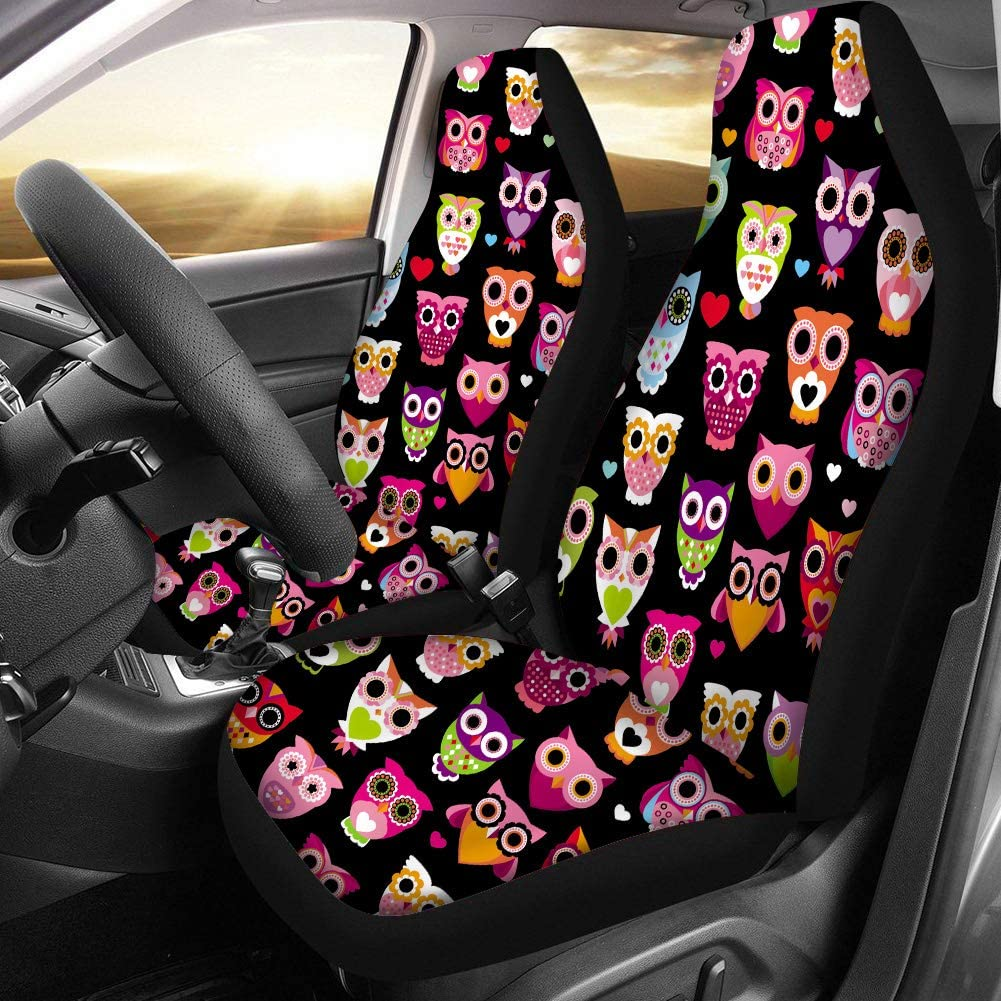 Vehicle Seat Protector Car Mat Covers Cool Soccer 3D Printing Car Seat Cover Front Seats Only Full Set of 2