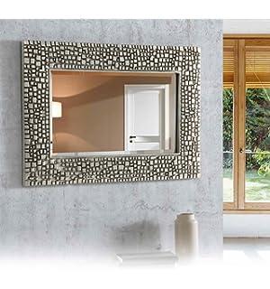 disarte espejos modernos riga rectangular plata x ibergada