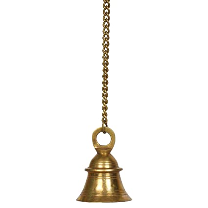 Buy Kartique Brass Wall Hanging Bells For Home Mandir Temple Living